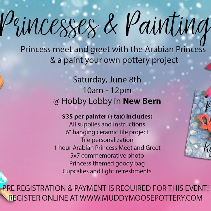 Princesses & Painting - New Bern