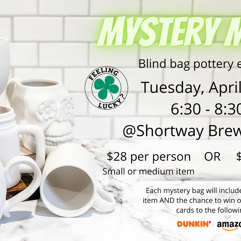 Brews & Brushes: Mystery Mania