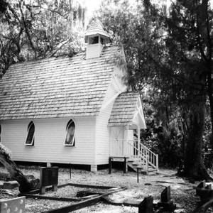 Paranormal Sarasota - Mary's Chapel and Cemetery at Spanish Point