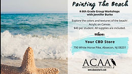 Painting The Beach • K-8