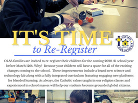 It's Time To ReRegister!