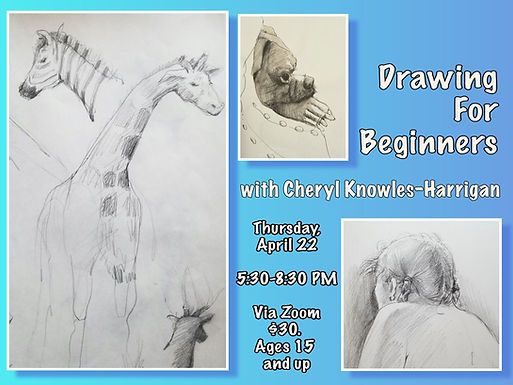Drawing for Beginners Workshop