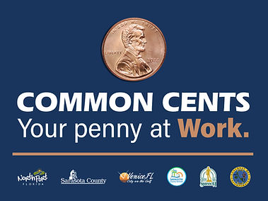 Image link to the common cents logo - image of the penny logo