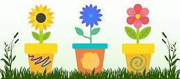 Kids Flower Pots Painting