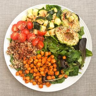 Quinoa & Chickpea Salad