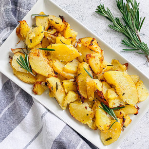 Crispy Rosemary Garlic Potatoes⁠