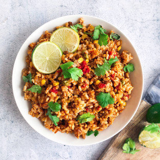 Instant Pot Spanish Brown Rice