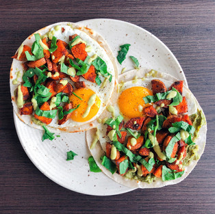 Sweet Potato Breakfast Tacos