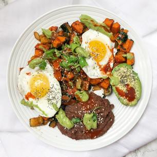 Southwestern Hash Breakfast Plate