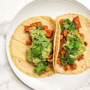 Sweet Potato & Chickpea Tacos