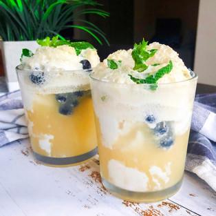 Kombucha Ice Cream Float