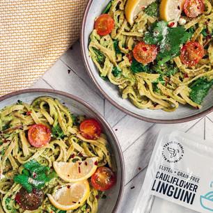 Creamy Avocado Pasta Linguini