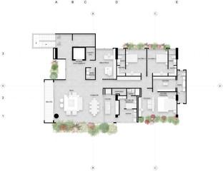San Lucas, Apartamentos tipo 2