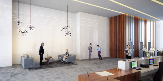 Ambiente Work 21 - Lobby