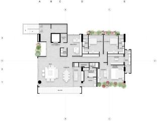 San Lucas, Apartamentos tipo 1
