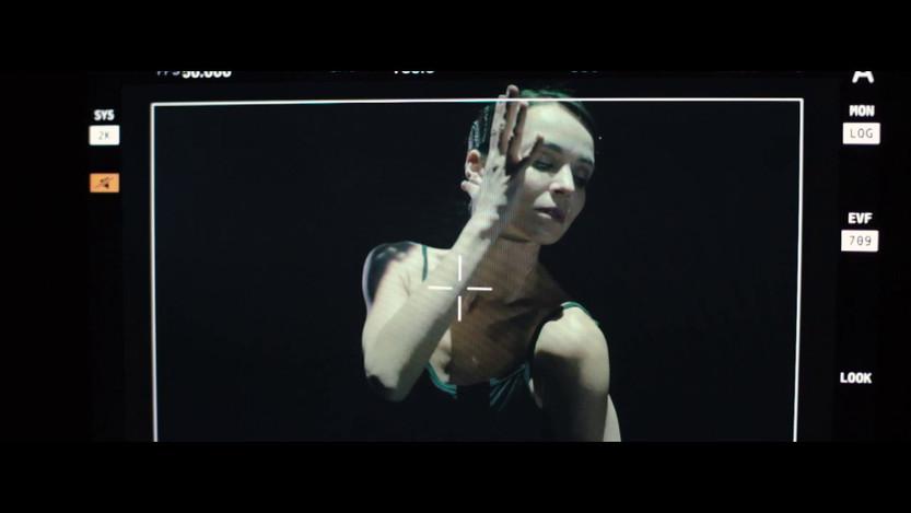 Балерина Диана Вишнева. Backstage
