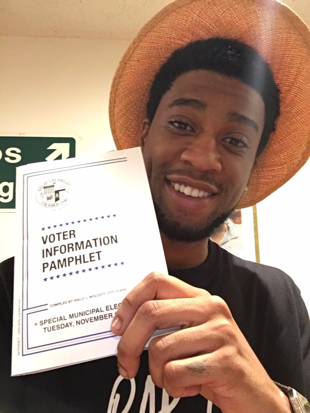 Dom Ellis Go Vote! Make A Difference