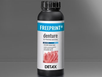 DETAX Freeprint® denture | 385nm UV