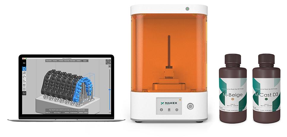 ZAGOtech MakeX drukarka 3D DLP_drukarka