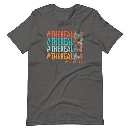Short-Sleeve Unisex #TheRealNVP T-Shirt