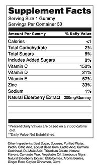 30-ct Immunity Pectin Gummy Formula (Sup