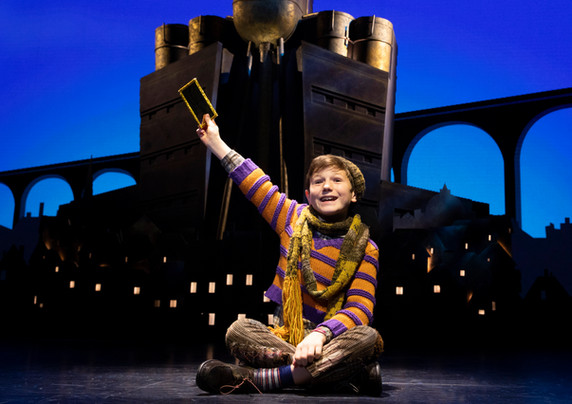 Collin Jeffery as Charlie Bucket. Roald Dahl's CHARLIE AND THE CHOCOLATE FACTORY.