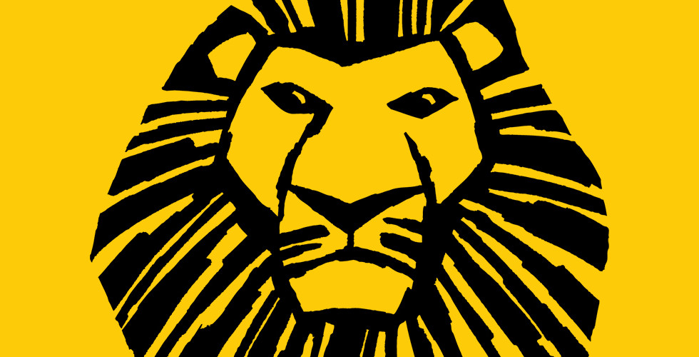 Disney's The Lion King Musical Lion Head Graphic