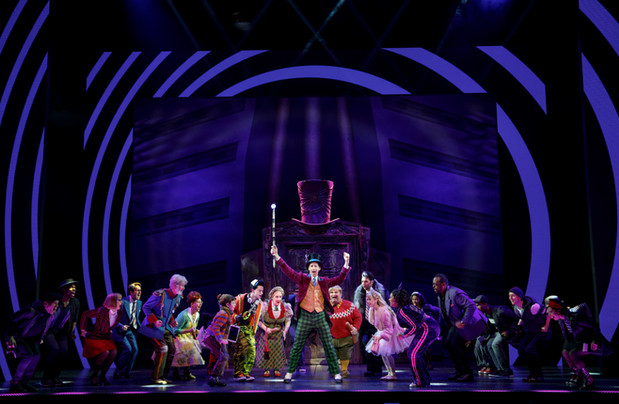 Noah Weisberg as Willy Wonka and company. Roald Dahl's CHARLIE AND THE CHOCOLATE FACTORY.