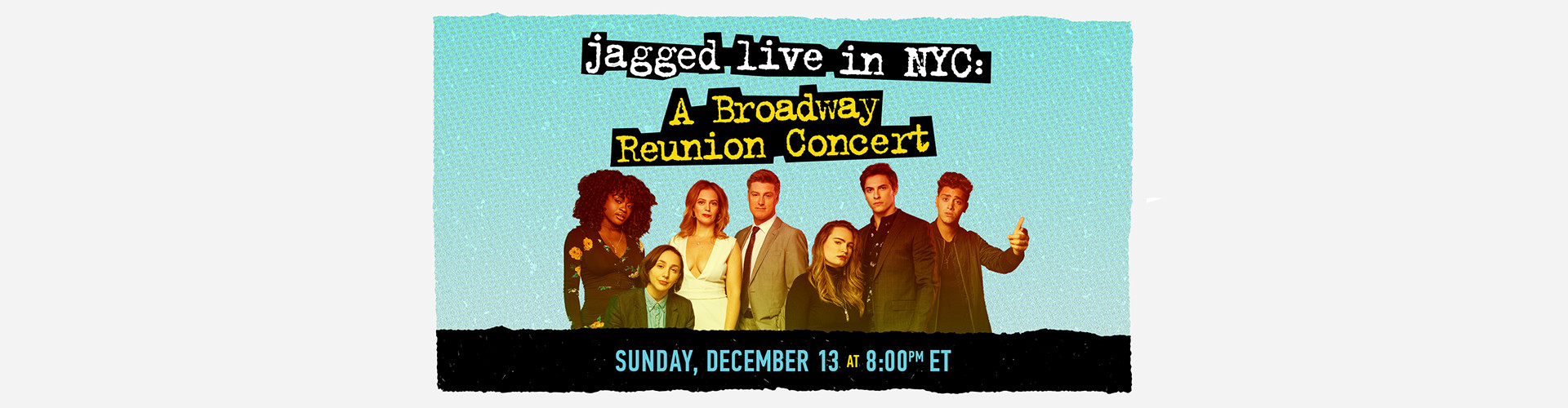 Jagged Live in NYC Event Image