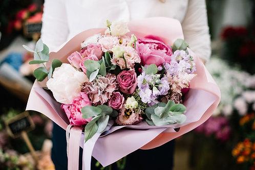 Suscripción de Flores - 1 Envío al Mes