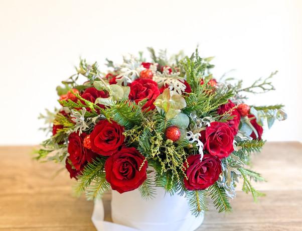 Caja Floral Navideña