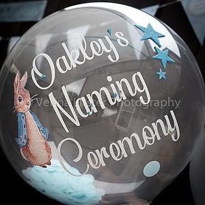 Oakley's Naming Ceremony