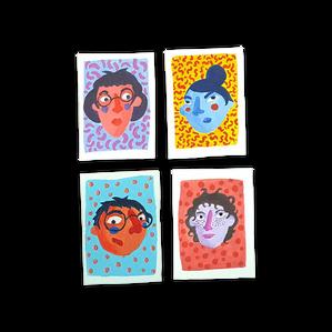 Mini portraits