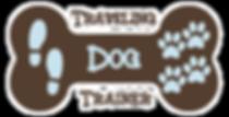 dog training logo Traveilng Dog Trainer