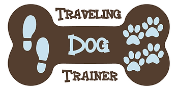 dog training logo Traveilng Dog Trainer