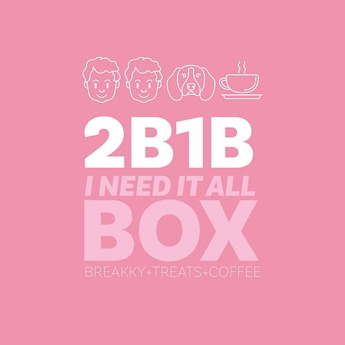 BREAKFAST + COFFEE + TREATS