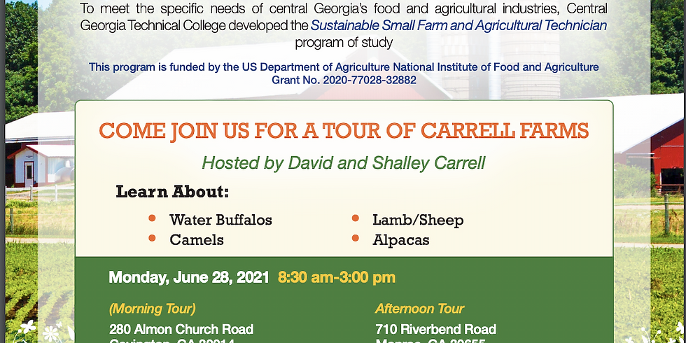 Carrell Farms Tour - Unique Proteins