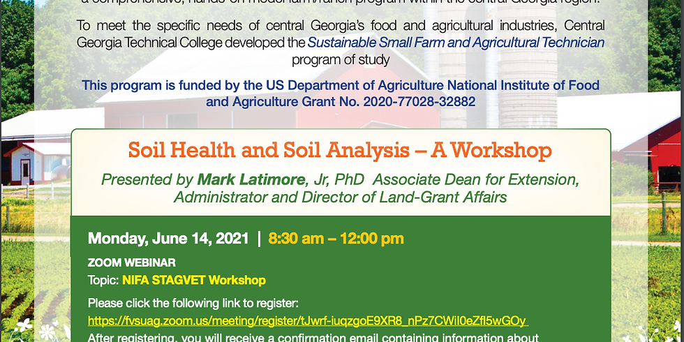 Soil Health and Soil Analysis – A Workshop