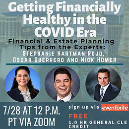 CLE: Getting Financially Healthy in the COVID Era