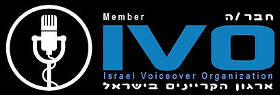 voiceover, voice over, narration, קריינות, אנגלית