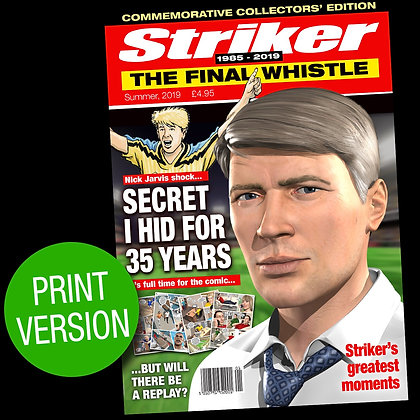 Striker: The Final Whistle - Print Version