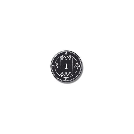 Button pin Amon Ars Goetia demon