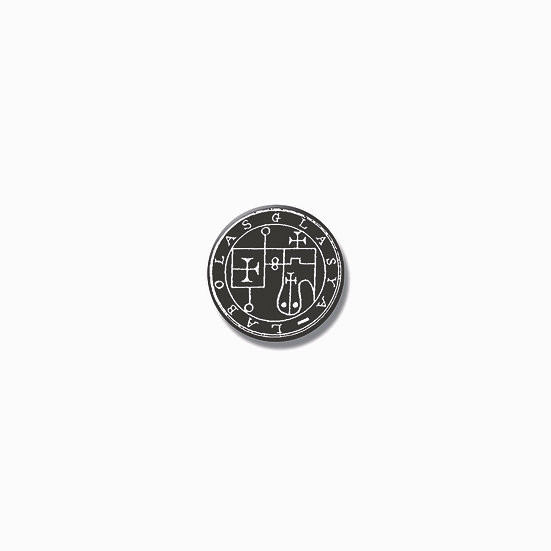 Button pin Glasya-Labolas Ars Goetia demon