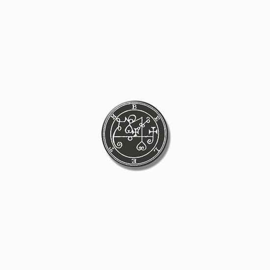 Button pin Beleth Ars Goetia demon