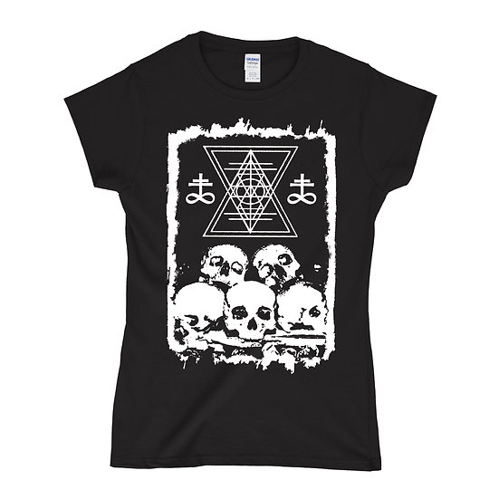 Ossuary women black T-shirt