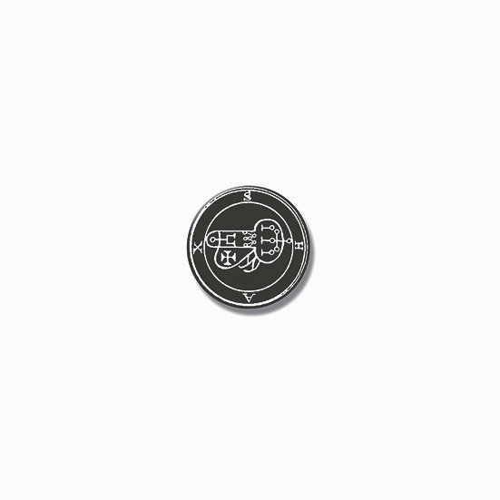Button pin Shax Ars Goetia demon