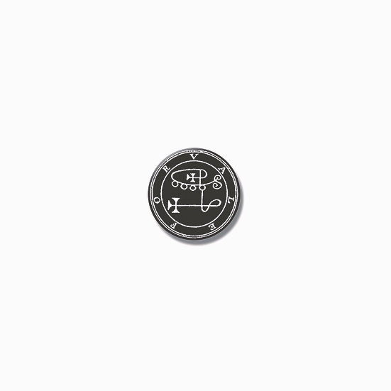 Button pin Valefor Ars Goetia demon