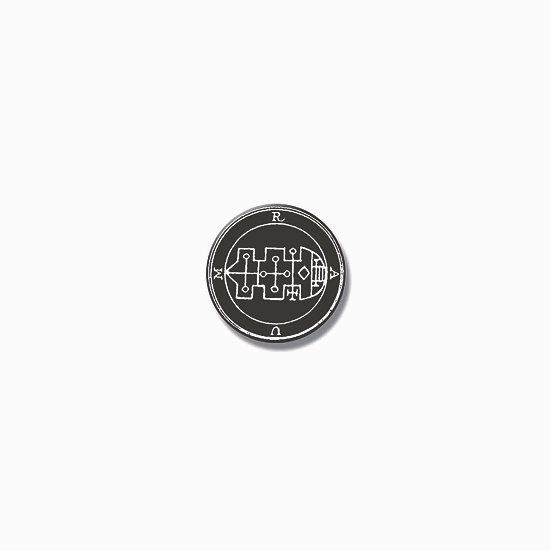 Button pin Raum Ars Goetia demon