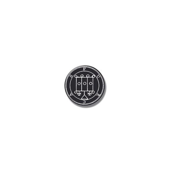 Button pin Furcas Ars Goetia demon