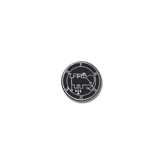 Button pin Phenex Ars Goetia demon